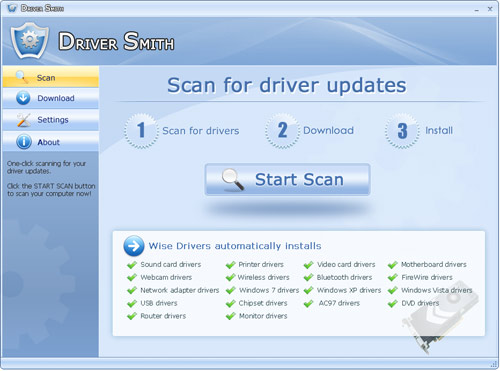 Click to view DriverSmith 2.0 screenshot